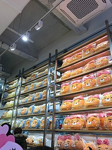 Products at the Kakao Friends Store.