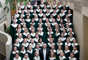 The Luther College Cathedral Choir, directed by Dr. Mark Potvin.