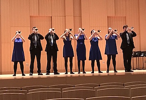 Luther College Trumpet Ensemble