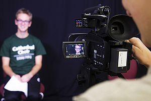 The Digital Media Center is just one of the many tools students have access to within the Visual Communication program at Luther College.