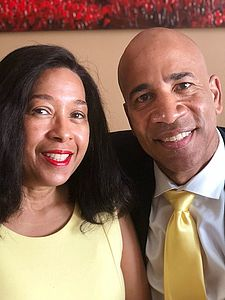 Alumni Council Co-Presidents Denise '82 and Willie Davismckennie '84