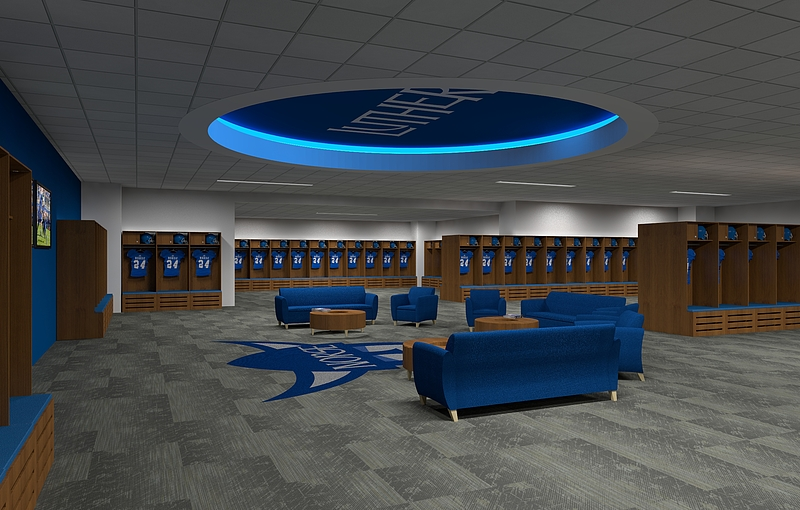 Football Locker Room