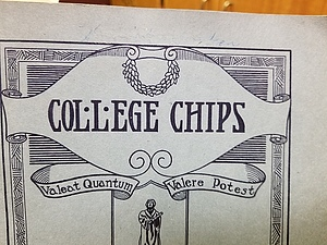 Luther College Chips, Oct. 1, 1924