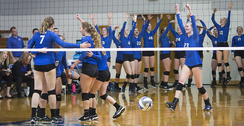 Luther College Volleyball Team
