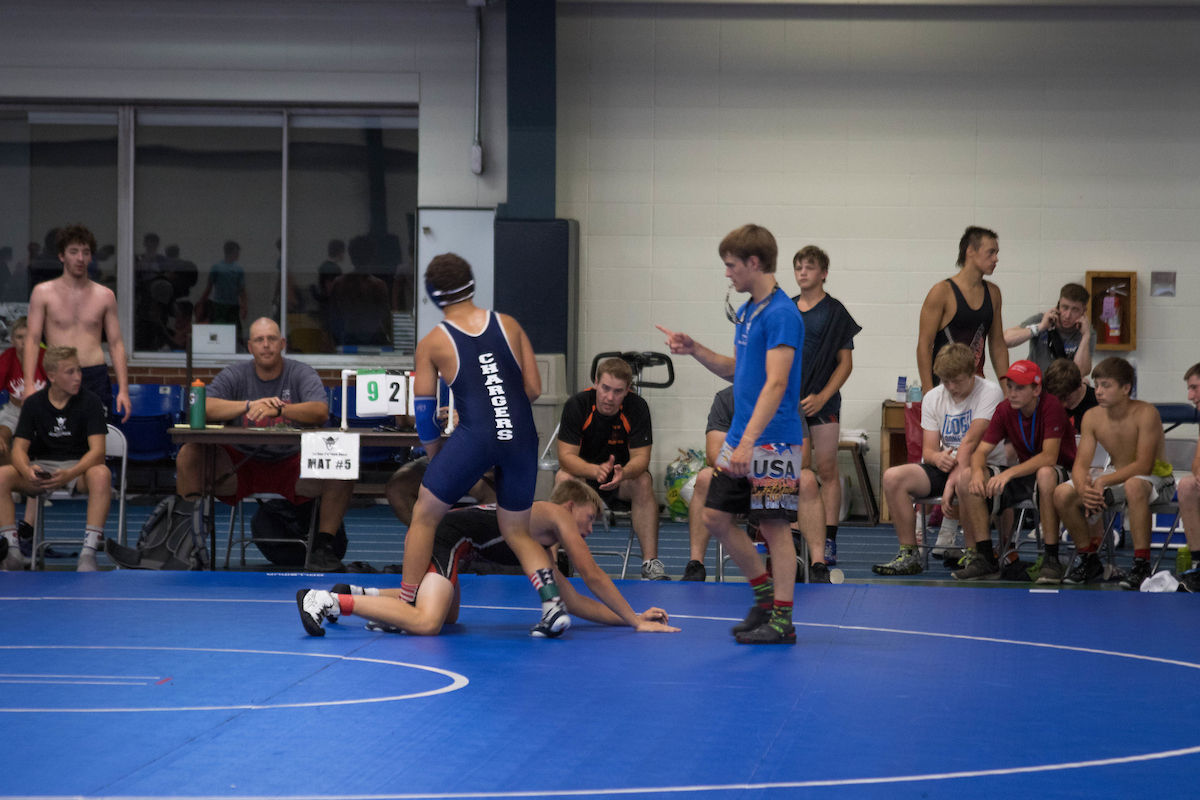 Wrestling Team Camp II | Sports Camps | Luther College