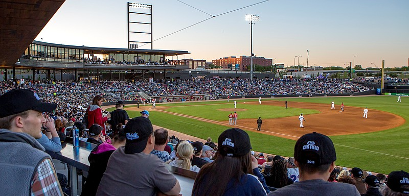 Saint Paul Saints at CHS Field