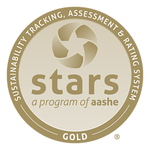 Luther College was awarded STARS Gold Award, and named the 9th most sustainable college