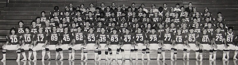 1970 Stagg Bowl Football Team