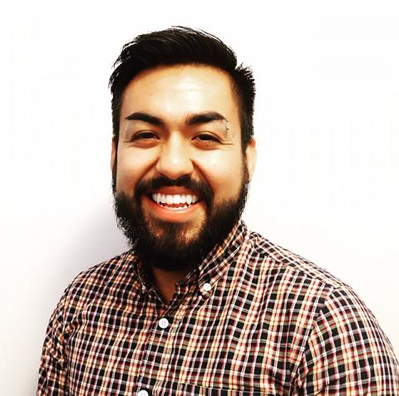 Jesus H. Lucero '16 is policy and organizing coordinator at OutFront Minnesota, which works toward equal opportunities, protections, and rights for LGBTQ individuals in the state of Minnesota.