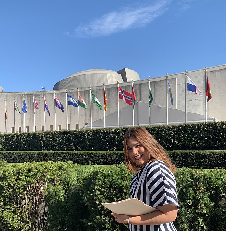 In petitioning the UN, Sofia Martinez Cruz '22 wanted not only to support her dear friend but also, she says, to confront her president and raise awareness.