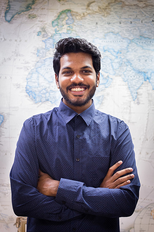 Ismail Hamid '19, Center for Global Learning intern
