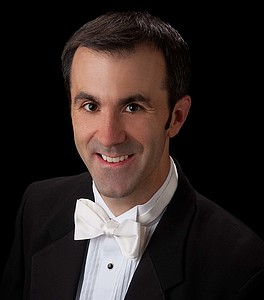 Spencer Martin, conductor of Philharmonia.