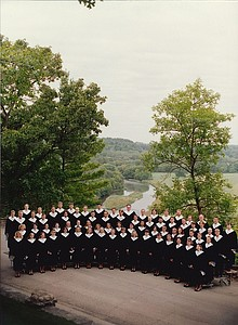 The Luther College Nordic Choir in the 1990s.
