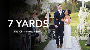 7 Yards is a feature-length documentary that explores the resilience and perspective of  2014 Luther College graduate,Chris Norton.