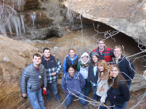 "We braved the ""poison ivy"" path to see these giant icicles<a href=""/reason/images/520000_orig.jpg"" title=""High res"">∝</a>"