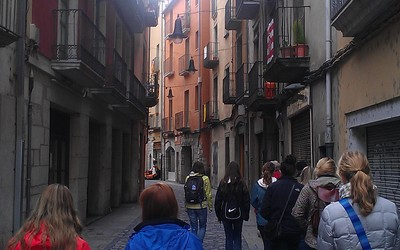 Walking in Girona