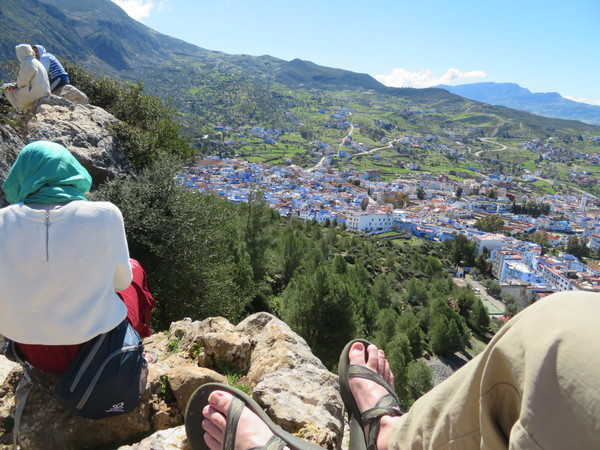 "This is the first of the lookout points that we sat and relaxed for a while at in Chefchaouen!<a href=""/reason/images/810009_orig.jpg"" title=""High res"">∝</a>"