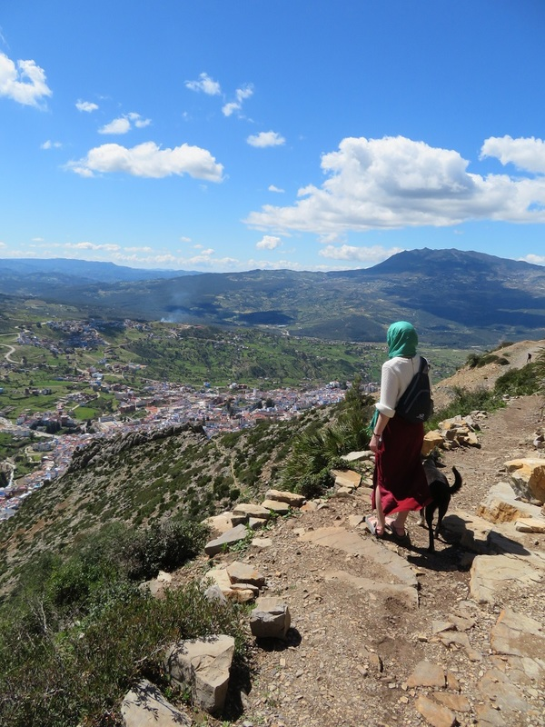 "Overlooking Chefchaouen with Trek<a href=""/reason/images/810011_orig.jpg"" title=""High res"">∝</a>"