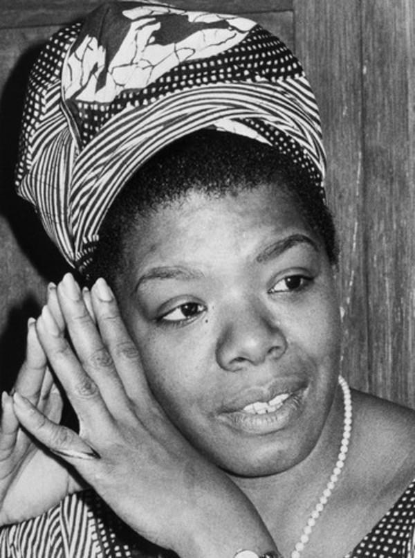 "Maya Angelou at the time of the publication of ""I Know Why The Caged Bird Sings,"" 1970."