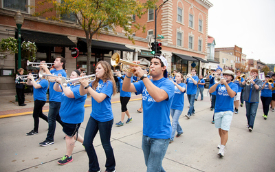 Luther College Pep Band.