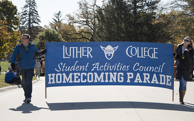 Homecoming 2015 parade, Student Activities Council