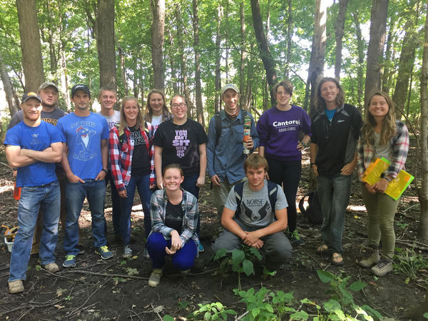 Ecology Class at Weigle-Roslien Woodland
