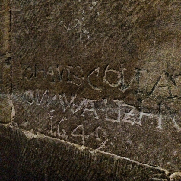 "Graffiti from 1649!<a href=""/reason/images/671033_orig.jpg"" title=""High res"">∝</a>"