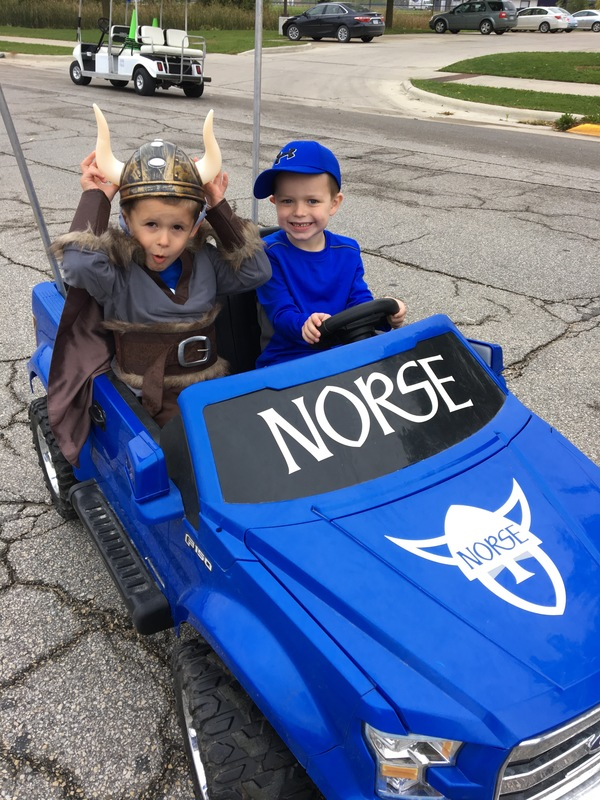 Hartl's sons represent the Norse.