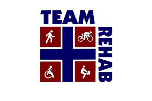 Team Rehab logo.