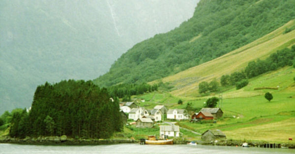 The famous fjords of Norway.