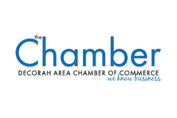 Decorah Area Chamber of Commerce logo.
