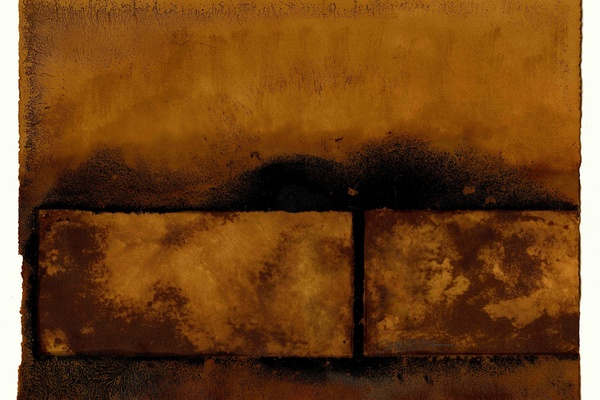 Joe Chesla's rust and salt print.