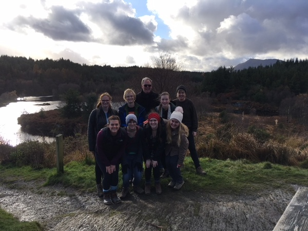 We had a great time on our hike in Snowdonia!
