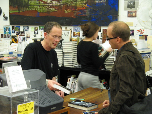 Andrew Hageman with William Gibson