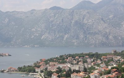 View from the walls in Kotor