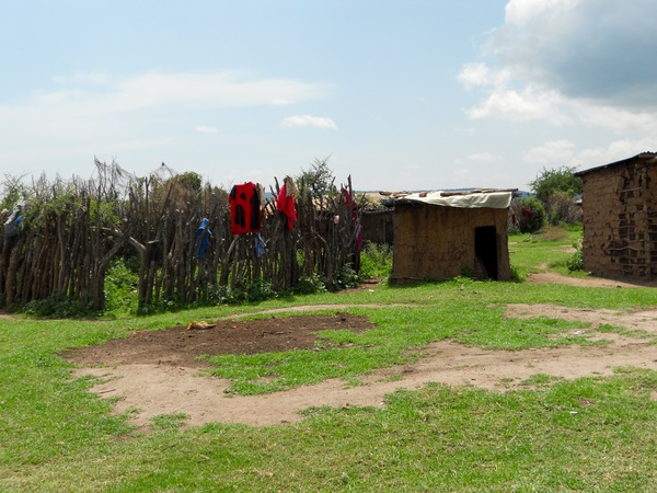 "A Maasai hut and cattle kraal in the village of Loliondo.<a href=""/reason/images/675082_orig.jpg"" title=""High res"">∝</a>"