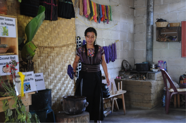 "At the cooperative, one of the women showed us how the cotton thread is dyed using natural ingredients such as carrots, coconut shells, and other plants specific to the region.<a href=""/reason/images/740087_orig.png"" title=""High res"">∝</a>"