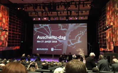 Auschwitz Day ceremony space