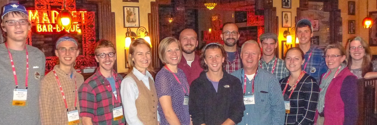 Luther entomologists at Entomological Society of America meeting 201