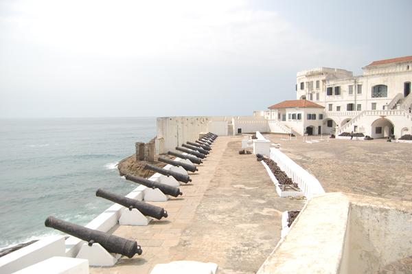 "The southern wall and courtyard above the Cape Coast dungeons<a href=""/reason/images/742094_orig.jpg"" title=""High res"">&prop;</a>"