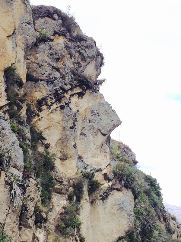 "Face cliff in the shape of an Inca<a href=""/reason/images/597097_orig.jpg"" title=""High res"">∝</a>"