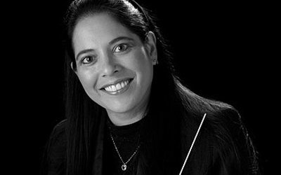 Joan deAlbuquerque, associate professor of music and director of bands