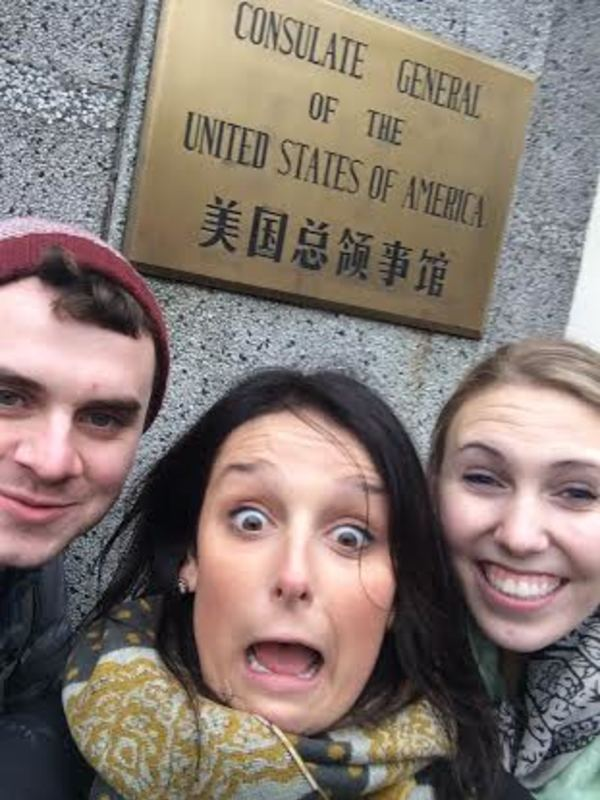 We found a small piece of home in Shanghai!