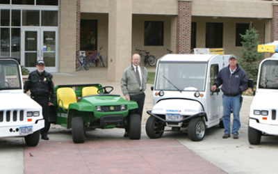 Luther utility vehicle fleet goes electric