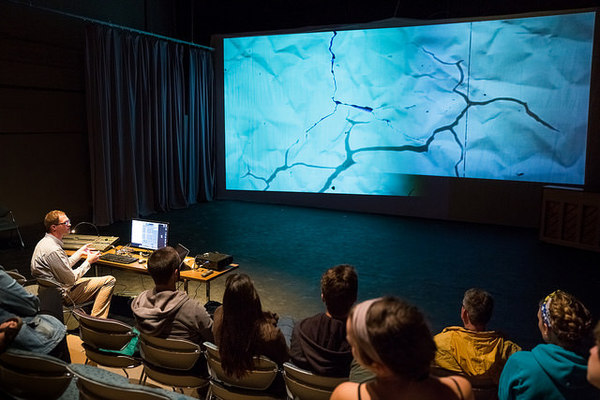 Projection Design Workshop with Brad Branam