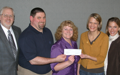 Rockwell Collins supports Luther PARTNERs program with $10,000 grant