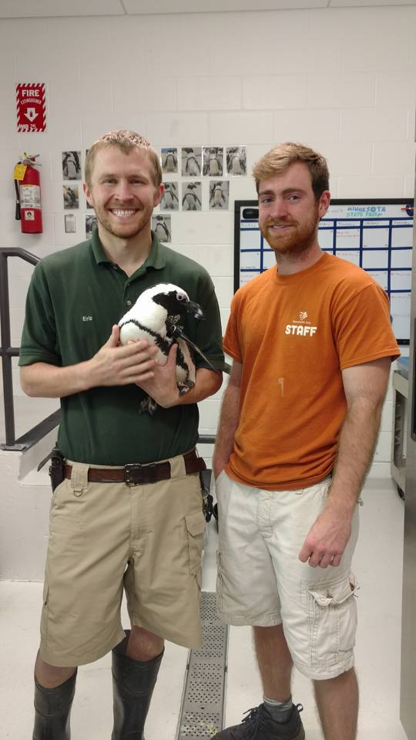 "Luther senior Jack Hendricks, at his internship with the Minnesota Zoo.<a href=""/reason/images/778123_orig.png"" title=""High res"">∝</a>"