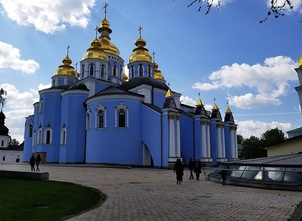 St. Micheal's Golden Domed Monastery