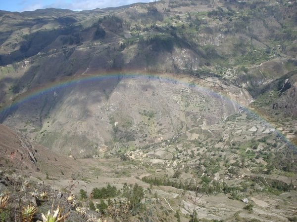 "The beautiful rainbow we saw in Saraguro at the beginning of our trip!<a href=""/reason/images/605133_orig.jpg"" title=""High res"">∝</a>"