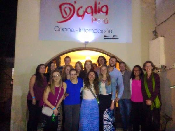 "A group picture after our farewell dinner in Cuenca!<a href=""/reason/images/605136_orig.jpg"" title=""High res"">∝</a>"